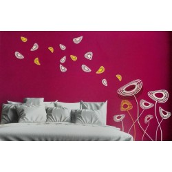 Florista - Asian Paints Wall Fashion Stencil