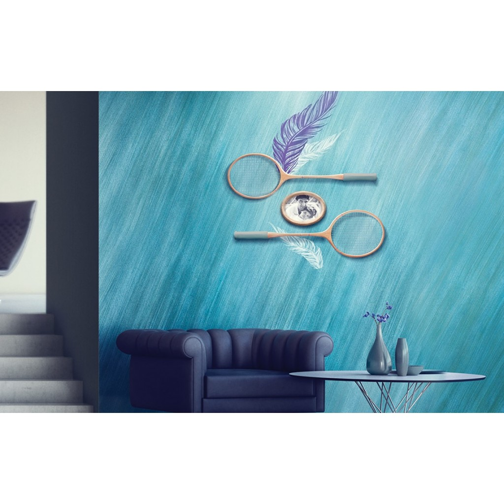 Feather asian paints wall fashion stencil buy online for Wall paint buy online
