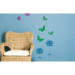 Stencil Kit 1 - Asian Paints Wall Fashion Stencil