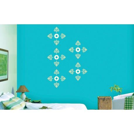 Rosary Combo - Asian Paints Wall Fashion Stencil