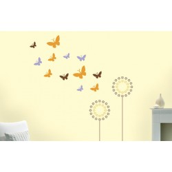 Flutter Combo - Asian Paints Wall Fashion Stencil
