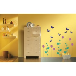 Nature Combo - Asian Paints Wall Fashion Stencil