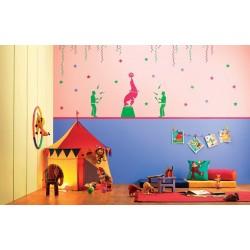 Fun At Circus - Kids World Stencil Kit