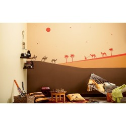 Desert Safari - Kids World Stencil Kit