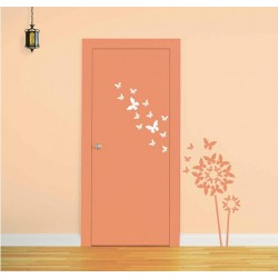DIY Decorate your Doors with Butterflies