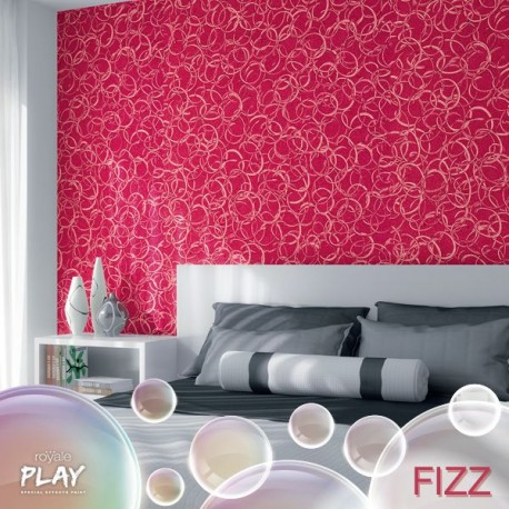 Diy royale play fizz effect kit buy online for Wall paint buy online