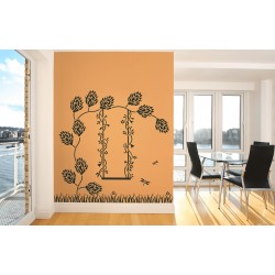 Ornami - Memory Lane - Asian Paints Wall Fashion Stencil