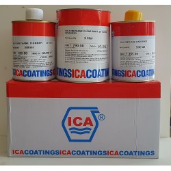 ICA PU 3-Part Matt Clear 2Ltr