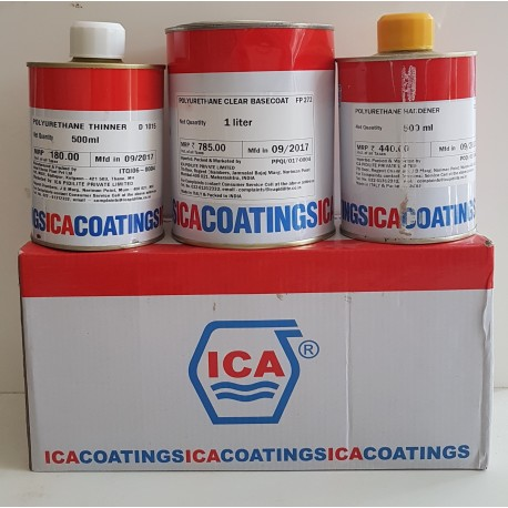 ICA PU 3-Part Sealer Clear 2Ltr