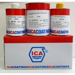 ICA PU 3-Part Matt White 2Ltr