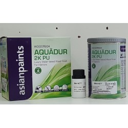 Aquadur Interior Water Based 2K PU Matt - Clear Top Coat