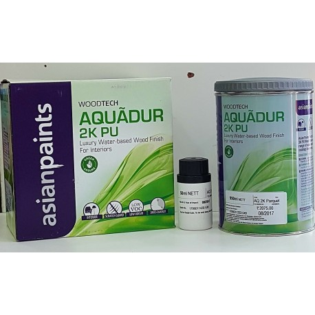Aquadur Interior Water Based 2K PU Parquet - Top Coat