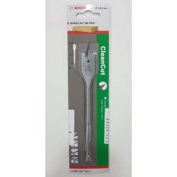 Bosch Flat/Spade Bit - Clean Cut - 18mm