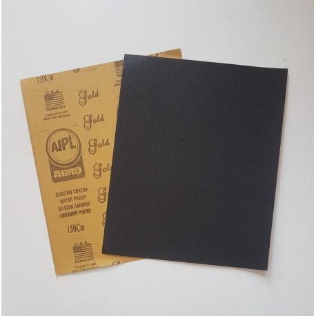 Abro 320 Grit Wet or Dry Waterproof Sandpapers