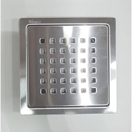 """Viking Drain Square 5""""x5"""" SS304 Square Holes"""