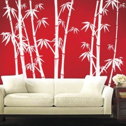 Chinese Bamboo - ROWF Wall Fashion Stencil