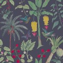 Nilaya Good Earth Wallpaper - Paradis Charcoal