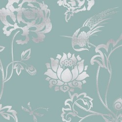 Nilaya Good Earth Wallpaper - Peony Garden