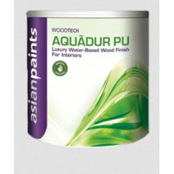 Aquadur Interior Water Based 1K PU Matt - Clear Top Coat 1Litre