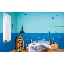 Light House Island - Kids World Stencil Kit