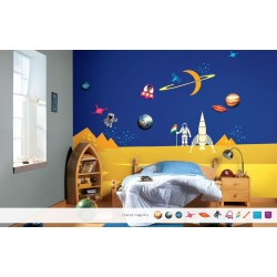 Milky Way - Magneeto Kids World Stencil Kit
