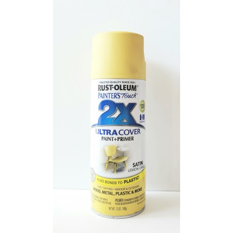 Rust-Oleum 2X Ultra Cover - Satin Lemon Grass 340g