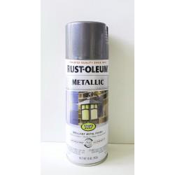 Rust-Oleum Stops Rust Protective Enamel - Metallic Charcoal 340g