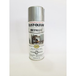 Rust-Oleum Stops Rust Protective Enamel - Metallic Silver 340g