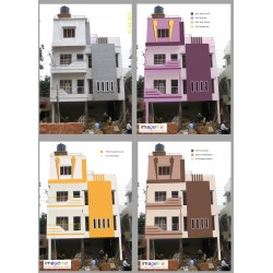 Exterior Colour Combinations - 4 views