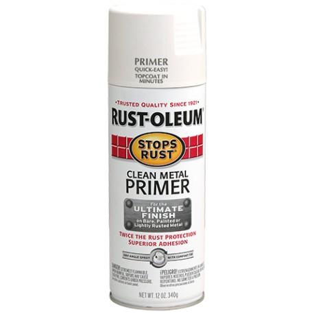 Rust-Oleum Stops Rust - Clean Metal Primer White 340g