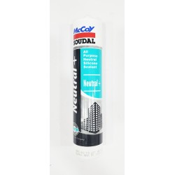 McCoy Soudal Neutral + Silicon Sealant 270ml