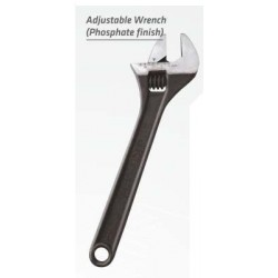 "JK 8"" Adjustable Wrench Phosphated"