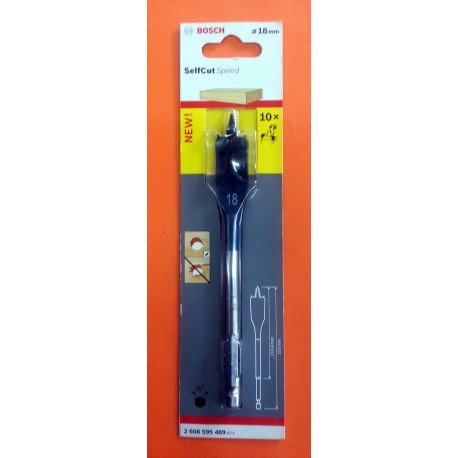 Bosch Spade Bit 18mm