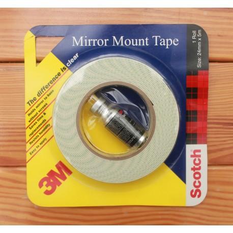"3M Mirror Mounting Tape 24mm (1"") x 5m"