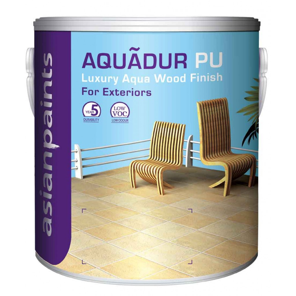 Aquadur water based pu top coat exterior matt buy online in india - Exterior wood paint matt pict ...