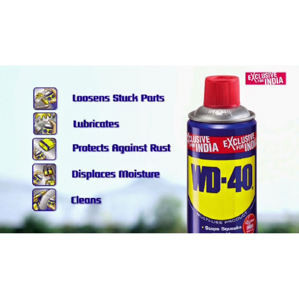 wd40 maintenance spray rust remover in india. Black Bedroom Furniture Sets. Home Design Ideas