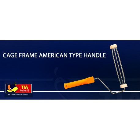 "Tia Cage Handle 9"" American Style"