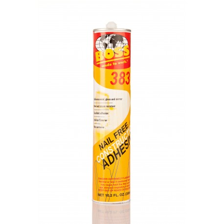 Boss 383 Nail Free Construction Adhesive 300ml