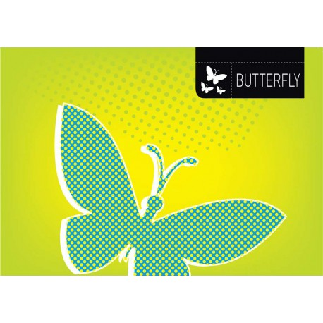 Butterfly - Themed Stencil for Walls