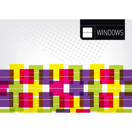 Windows - Themed Stencil for Walls