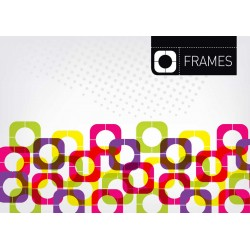 Frames - Themed Stencil for Walls
