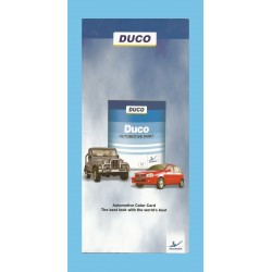 Duco Shade Card