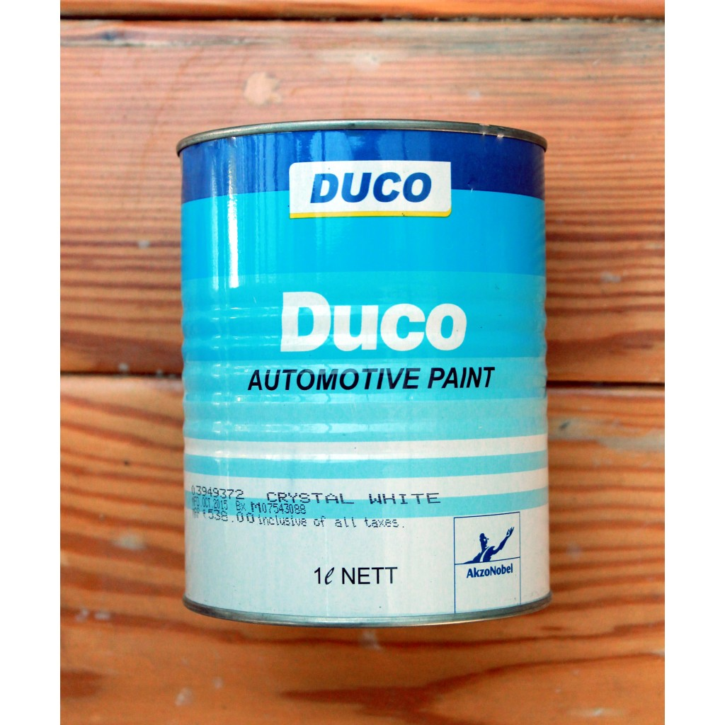 Duco Paint Process On Wood
