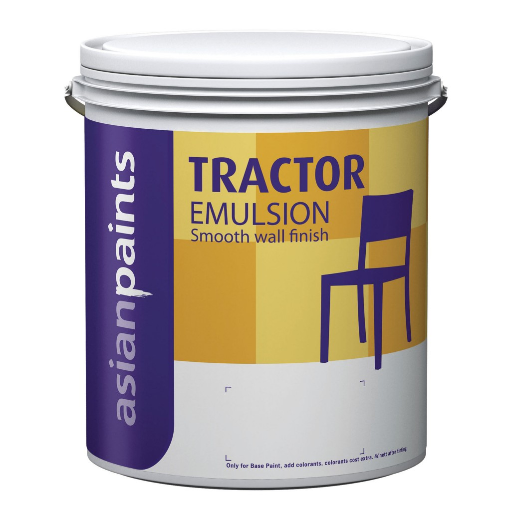 Asian paints tractor emulsion buy online in india for Can you use emulsion paint on canvas