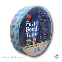 3M Fast Bond Double Side Adhesive Tape 30mm x 20m