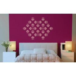 Stardust - Asian Paints Wall Fashion Stencil