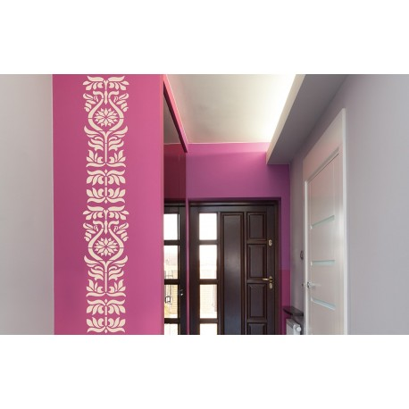 Eastern Ornaments - Asian Paints Wall Fashion Stencil
