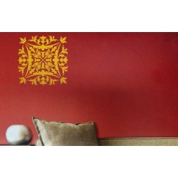 Crest - Asian Paints Wall Fashion Stencil