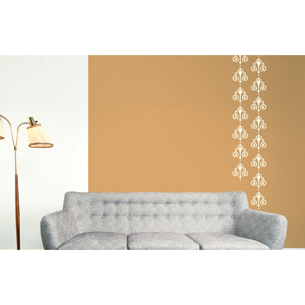 French riviera asian paints wall fashion stencil buy for Wall paint buy online