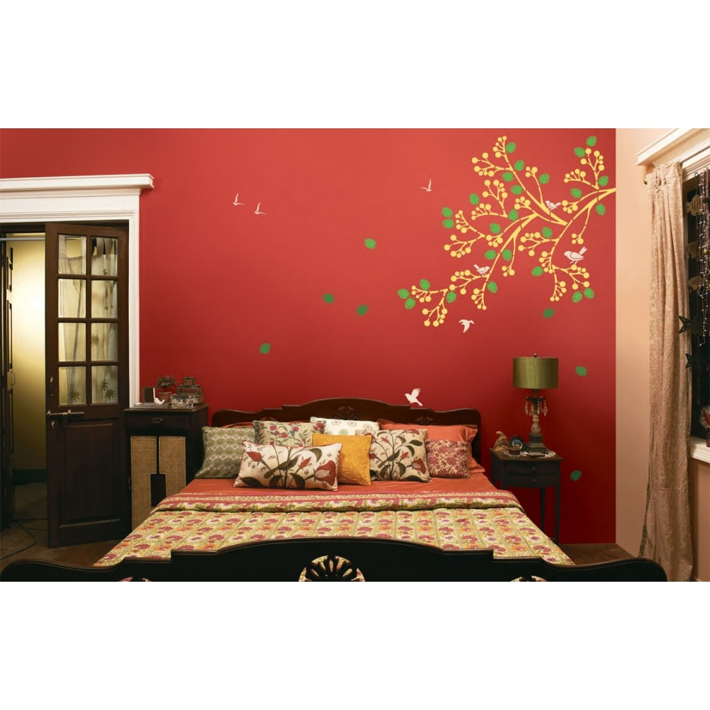 Spring Diaries Asian Paints Wall Fashion Stencil Buy